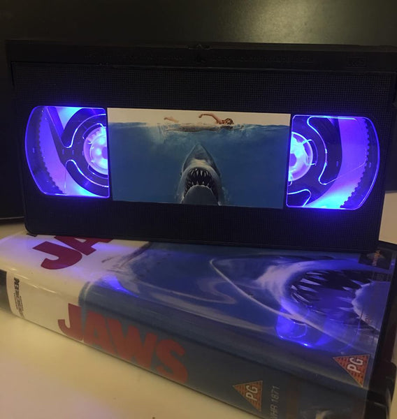 Jaws Illuminated VHS Tape
