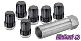 Spline Drive Lug Nut Kit - Black