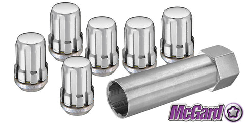 Spline Drive Lug Nut Kit - Chrome