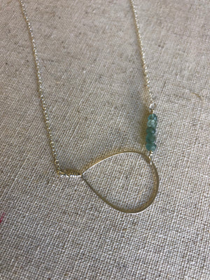 Touch of Blue Necklace