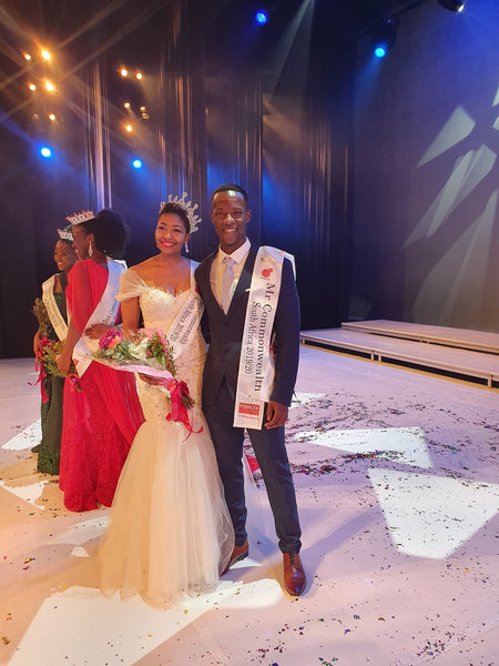 Bongani Motshoane Wins Mr. Commonwealth South Africa