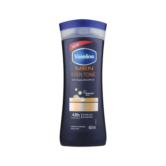 Vaseline Men Even Tone Repairing Moisture Body Lotion 400ml