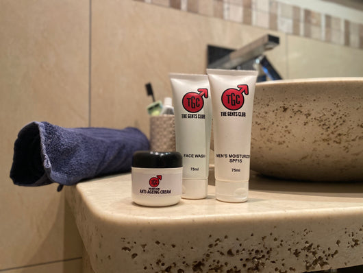 The Gents Club ZA Daily Skincare Set