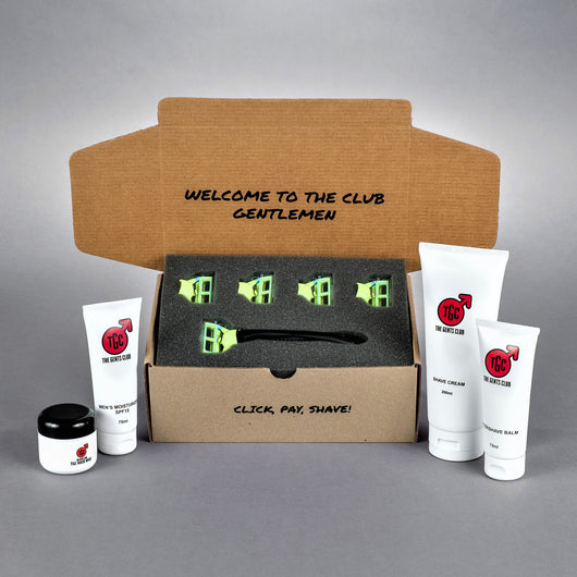 The Gents Club South Africa Men's Grooming Kit: The Business Man