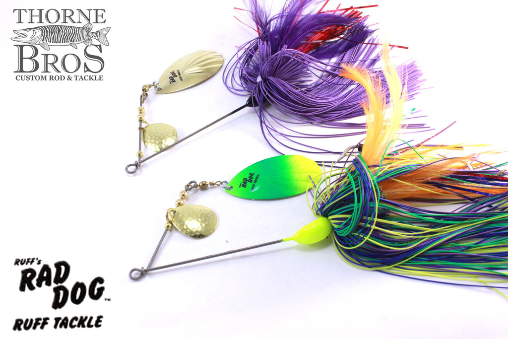 Ruff Tackle Rad Dog Tandem Spinnerbait 1-3/4oz