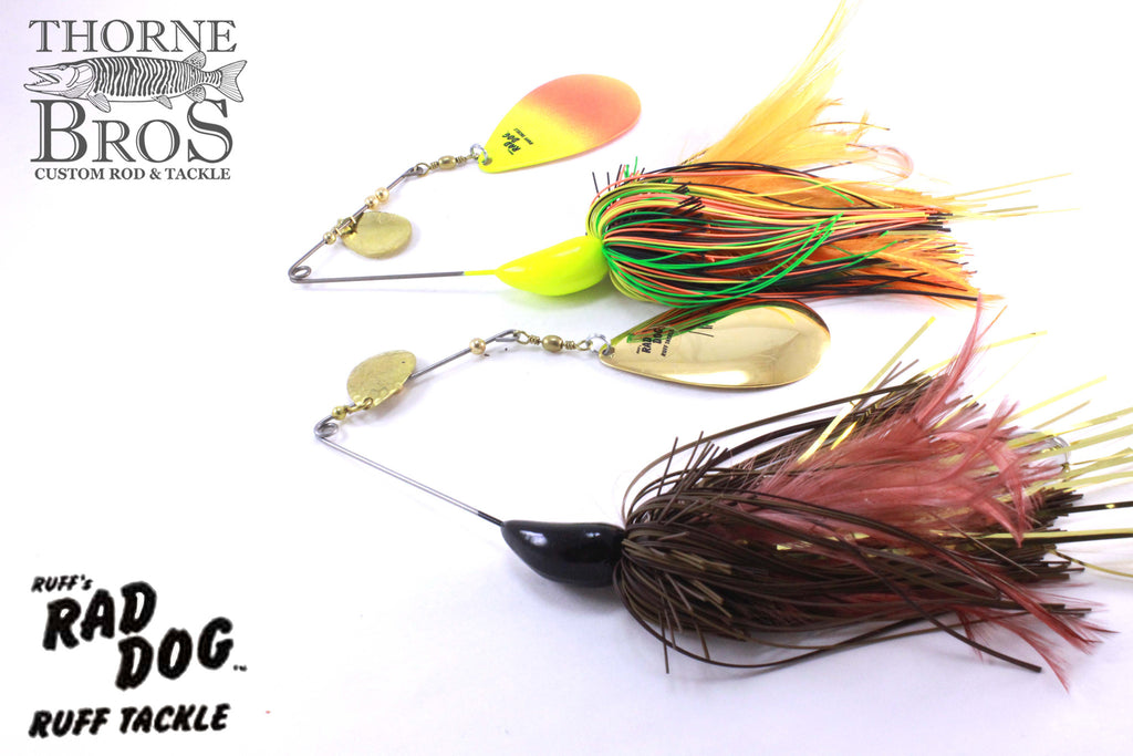 Ruff Tackle Rad Dog Tandem Spinnerbait 3-1/2oz.