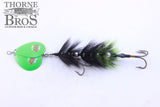 "Musky Mayhem Rabid Squirrel 8"" - Double Blades"