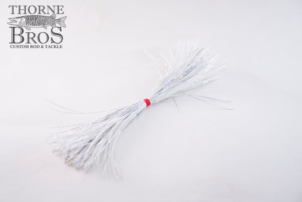 Skirt-Thorne Brothers Pre-Tied Tinsel Snow White Tinsel Series