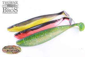 Action Plastics Shad 12""