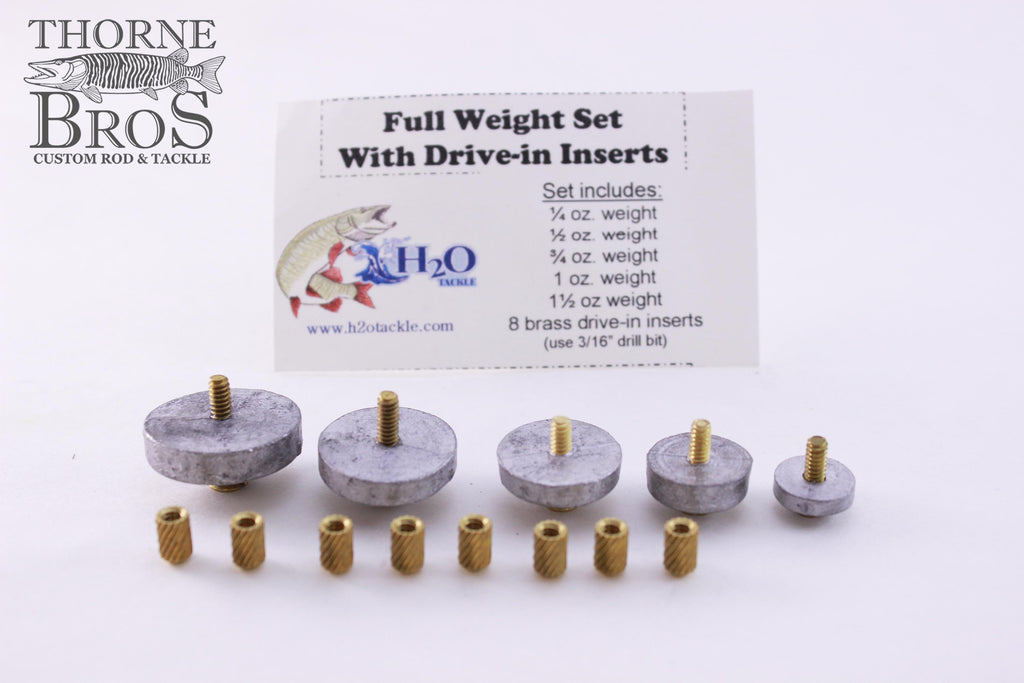 Weight-H2O Weight Kit With Inserts