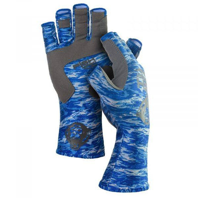 Fish Monkey Half Finger Gloves