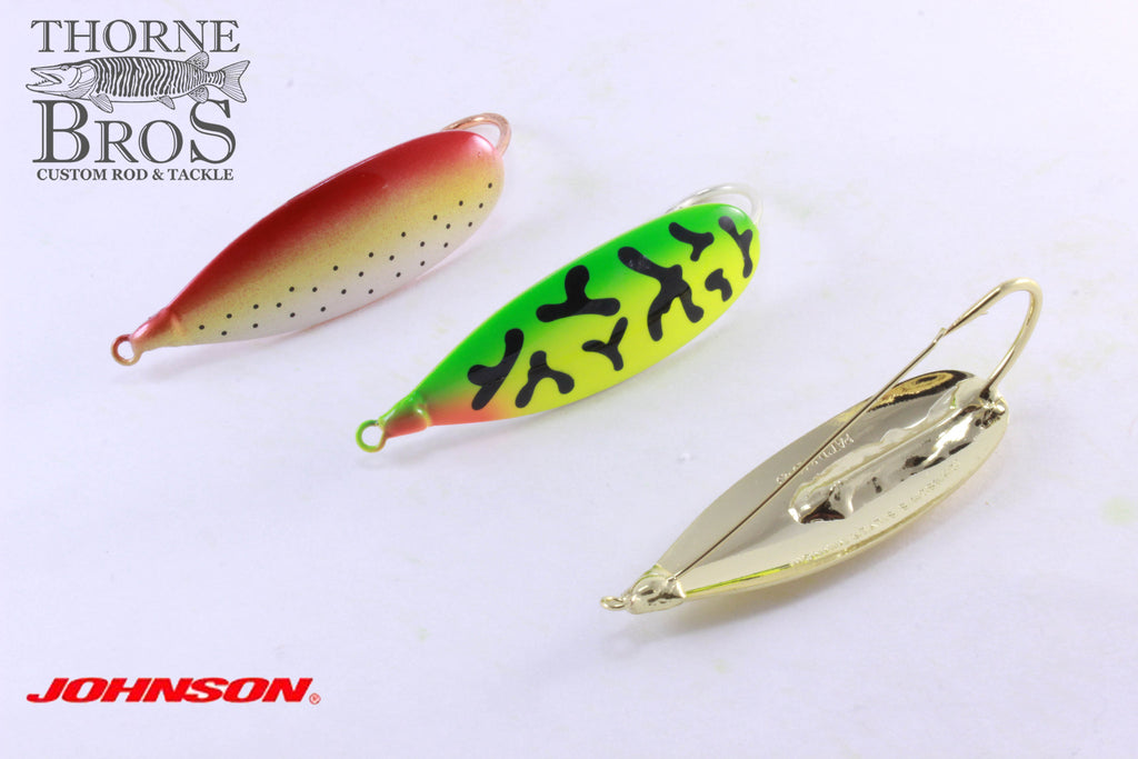 Johnson Silver Minnow Spoon 3/4 oz