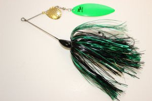 Ruff Tackle Tinsel Dog Tandem Spinnerbait 2-1/4oz