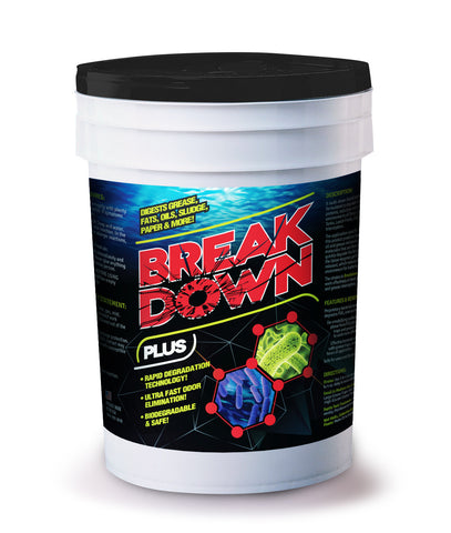 Break Down Plus™ (5 Gallon)