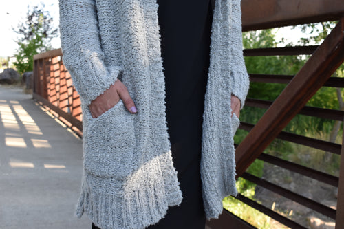Mabel Gray Cardigan