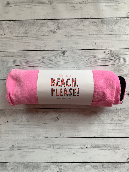 Beach Please Giant Towel by Bando