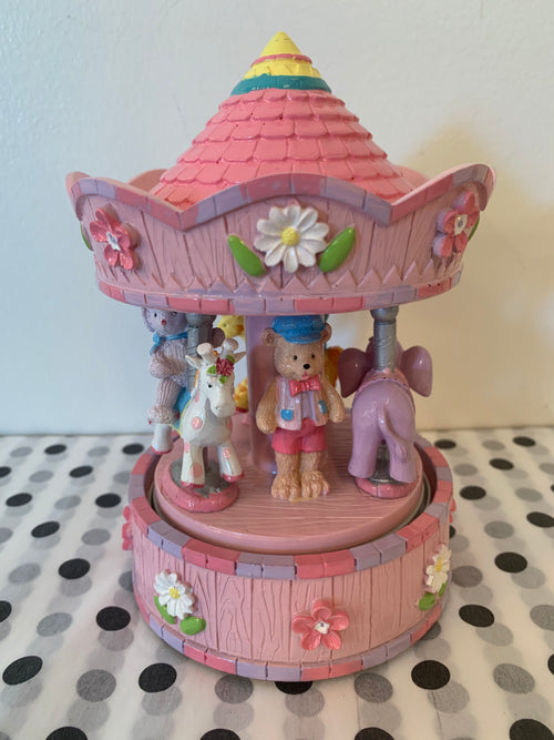 Dream Time Carousel Pink