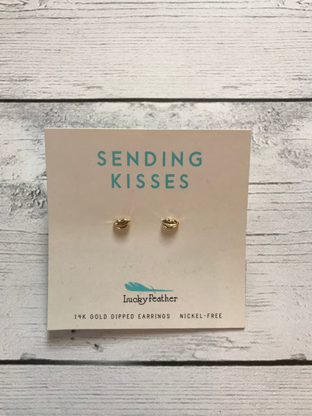 Sending Kisses Earrings