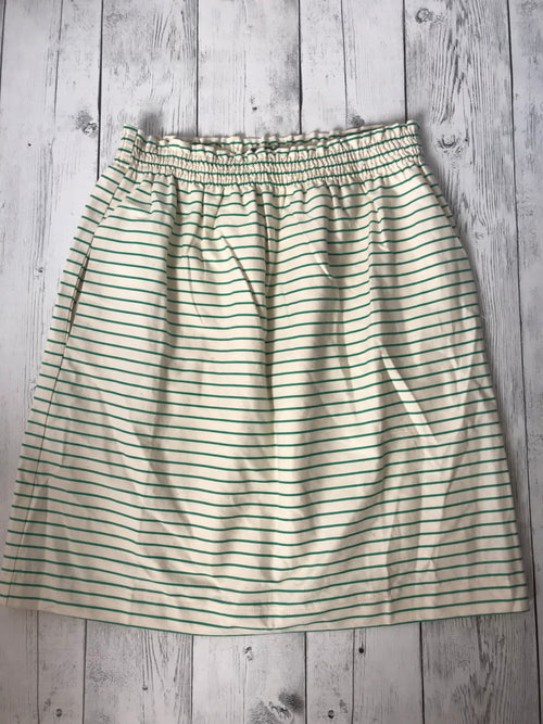 Sailor Skirt Green Stripe