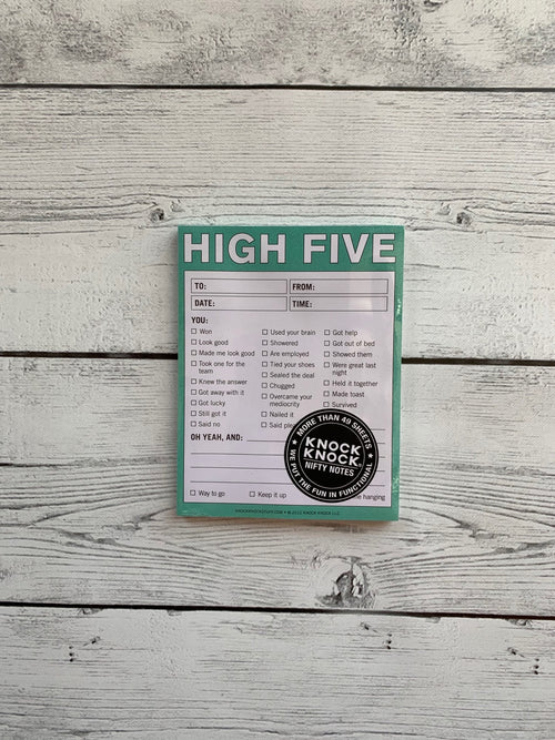 High Five-Nifty Notes