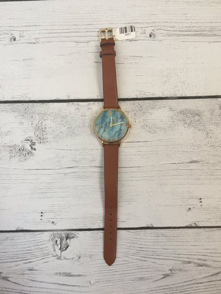 Blue Marbled Watch