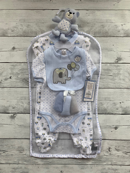 Baby Boy Owl/Elephant set