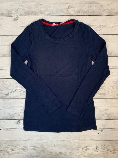 Basic Long Sleeve Navy