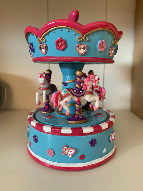 Musical Carousel-Blue