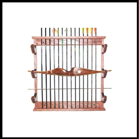 Wooden Bow Racks Archery Displays