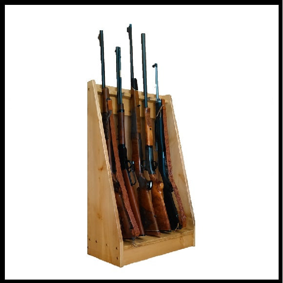Rustic Vertical Gun Racks