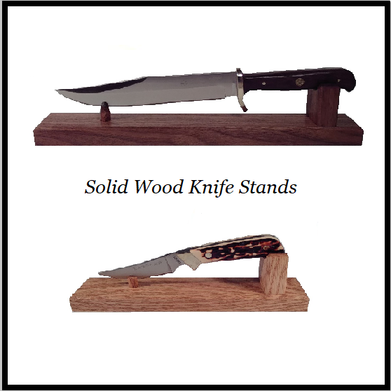 Wood Knife Stands & Displays