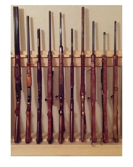 Gun Racks For Less Two Piece Vertical Gun Rack