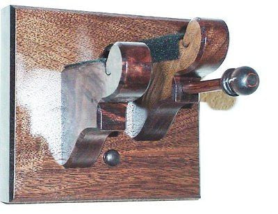 Walnut Wooden Violin & Bow Hanger Wall Mount Display