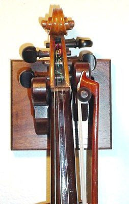 Cherry Wooden Violin Hanger by Gun Racks For Less
