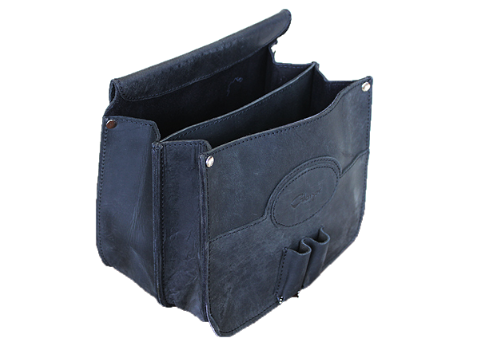 Glanor Buffalo Leather Shell Bag Gun Ammo Pouch