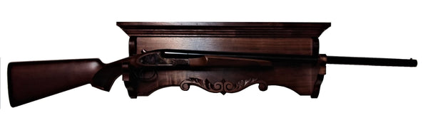 Gun Racks For Less Carved Walnut Heritage Gun Rack Display