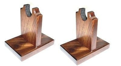 Walnut Wooden Sword Stand - Knife Rack Table Display