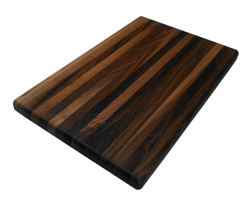 Walnut Wood Cutting Board - Hunters Wild Game Butcher Block