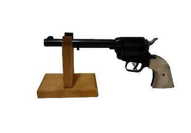 Light Rustic Wooden Gun Rack Revolver Handgun Pistol Stand Display