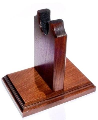 Wooden Pistol Stand by Gun Racks For Less