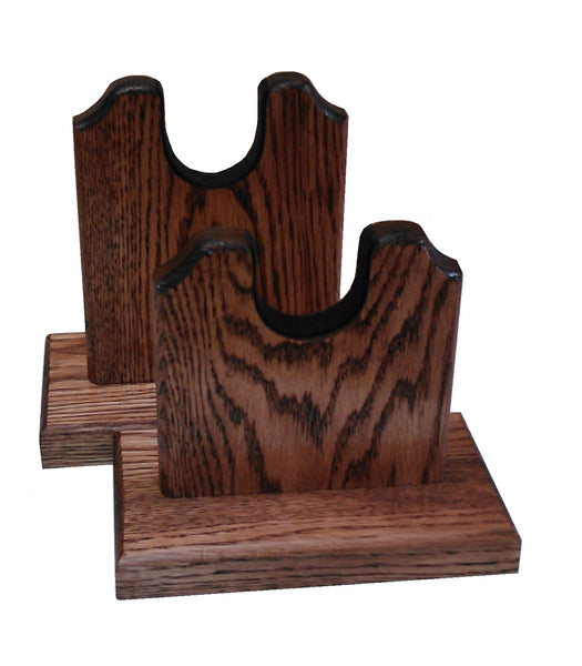 Oak Two Piece Rifle Stand By Gun Racks For Less
