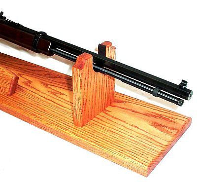 Gun Racks For Less Oak Presentation Gun Stand