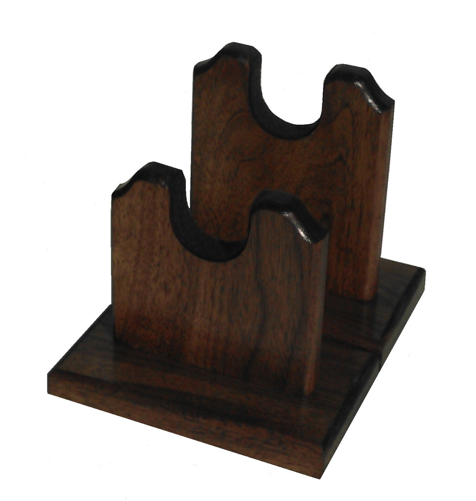 Gun Racks For Less Walnut Two Piece Gun Stand