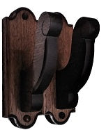Gun Racks For Less Decorative Walnut Gun Hangers