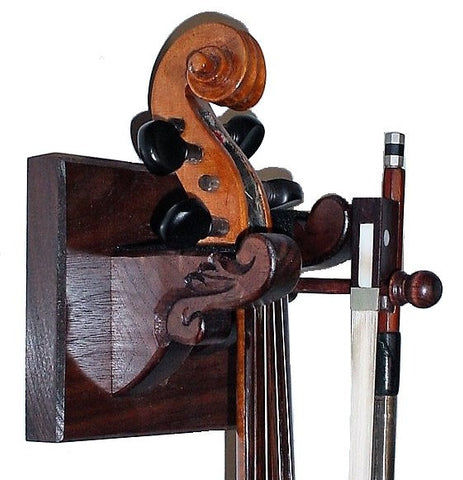 Walnut Wooden Violin Hanger by Gun Racks For less