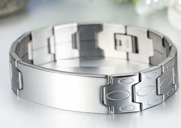 Custom Engraving Dominant High Quality 316L Surgical Stainless Steel High Quality BDSM Master Bracelet