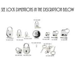 "Discreet KITTEN Kitty Locking BDSM ""O"" Ring 925 Sterling Silver Hypoallergenic Slave Bondage Sub Necklace Day Collar & Free Lock or Clasp"