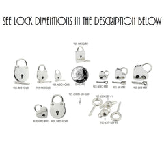 High Quality 925 Sterling Silver Hypoallergenic Locking, lock, padlock BDSM Day Collar Bondage Sub Kink Slave Submissive ToBeHis Engraving