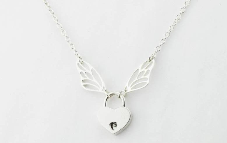 Butterfly Wing Solid 925 Sterling Silver Day Collar