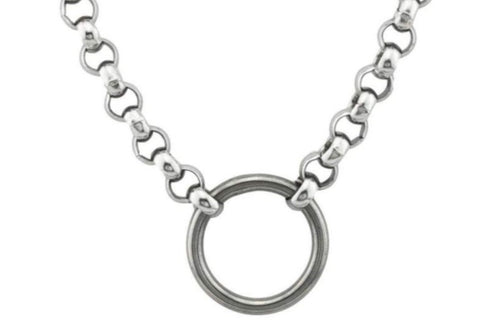 316L Surgical Stainless Steel BDSM Day Collar